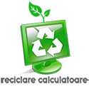 Reciclare calculatoare Logo